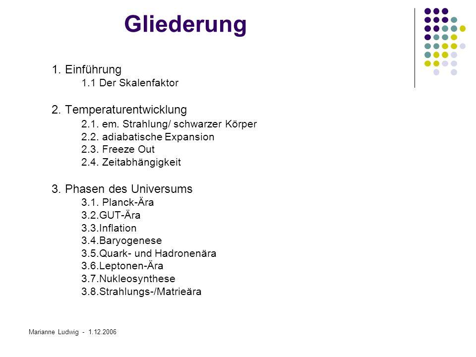 Gliederung 1. Einführung 2. Temperaturentwicklung