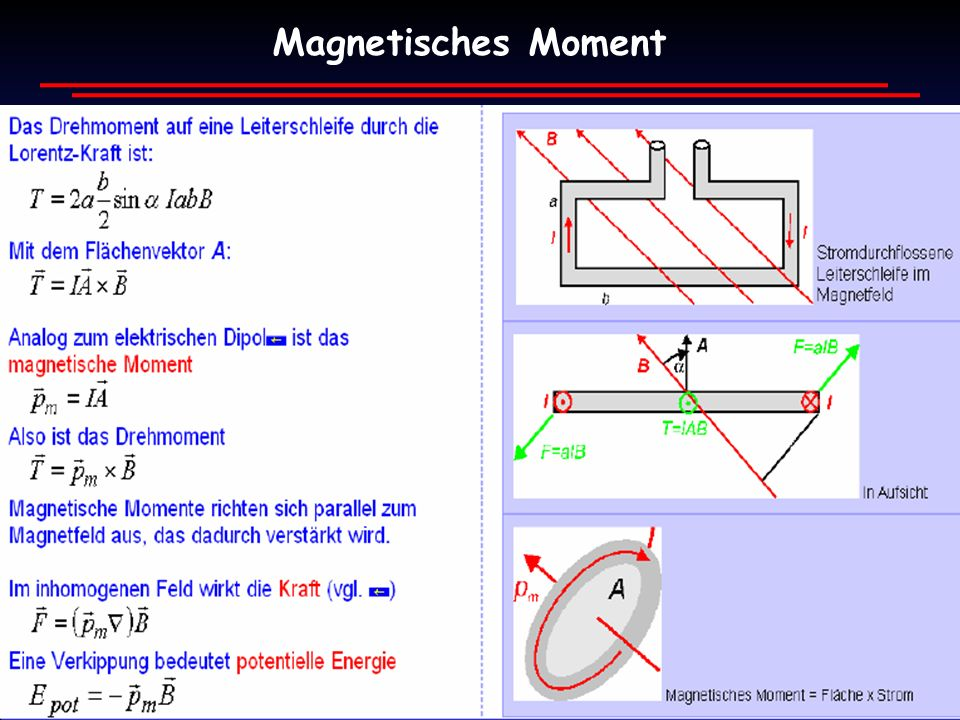 Magnetisches Moment