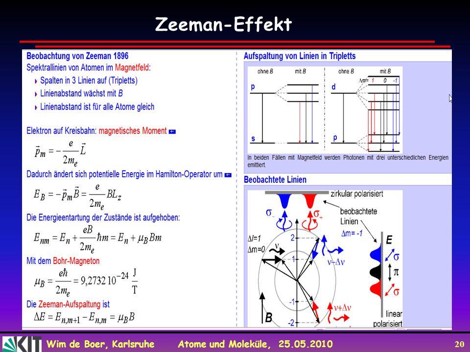 Zeeman-Effekt