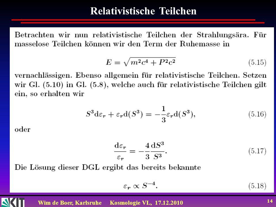 Relativistische Teilchen