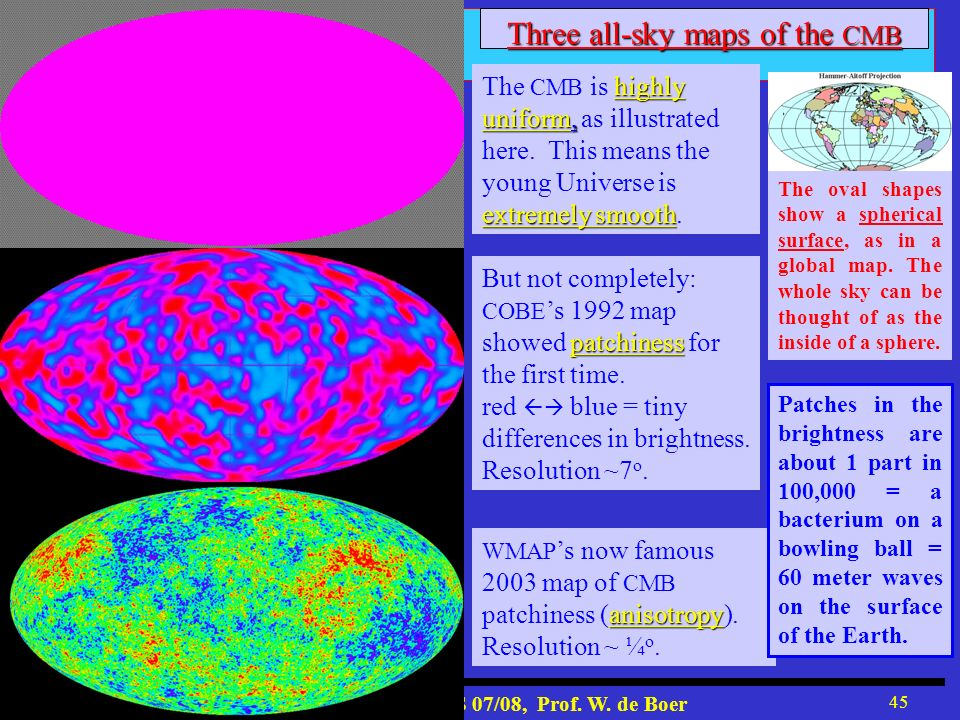 Three all-sky maps of the CMB