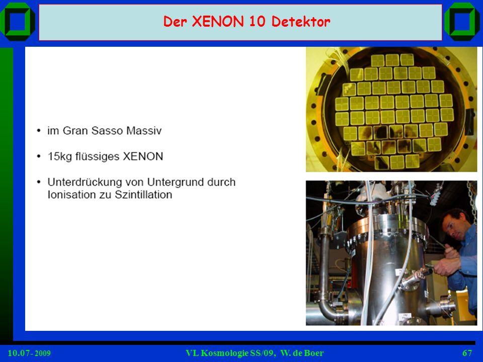Der XENON 10 Detektor