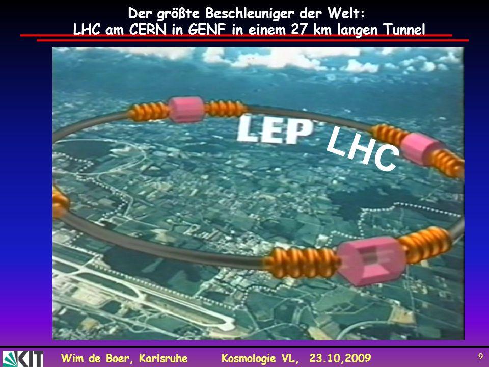 LHC Der größte Beschleuniger der Welt: