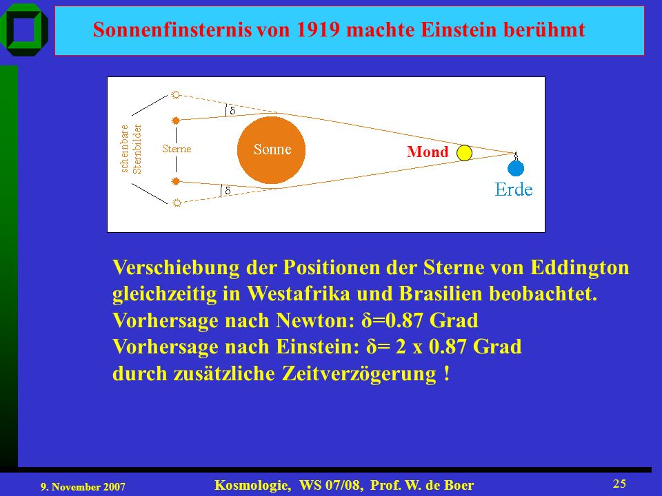 Sonnenfinsternis von 1919 machte Einstein berühmt