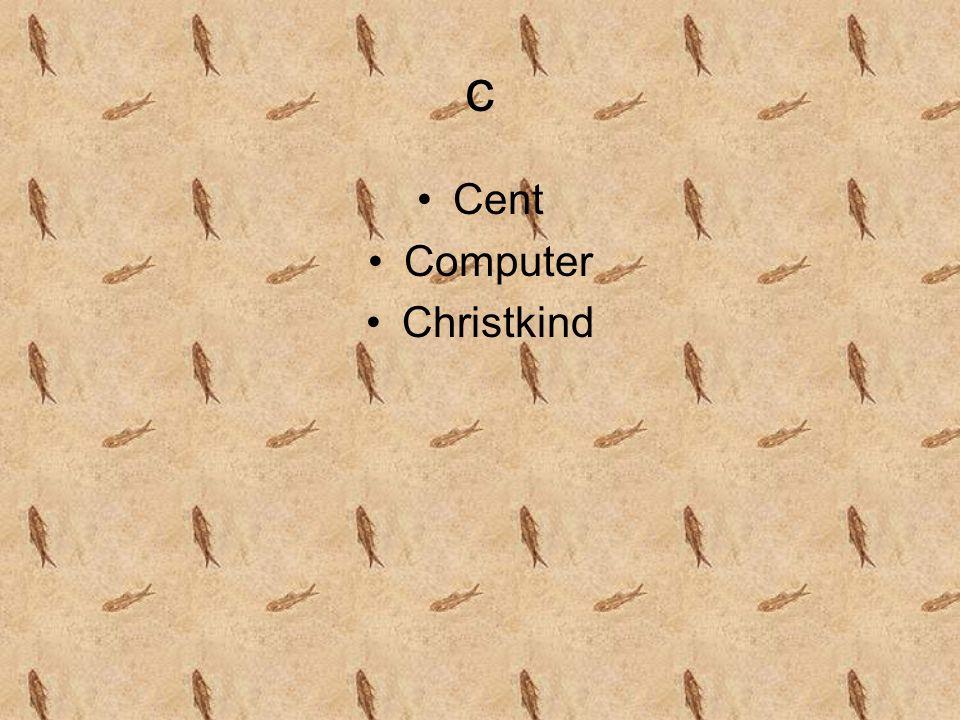 c Cent Computer Christkind