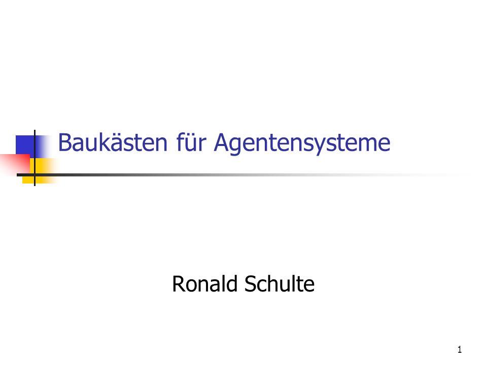 Baukästen für Agentensysteme
