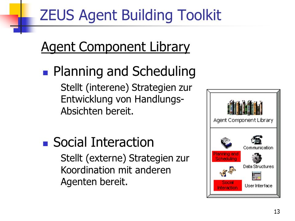 ZEUS Agent Building Toolkit