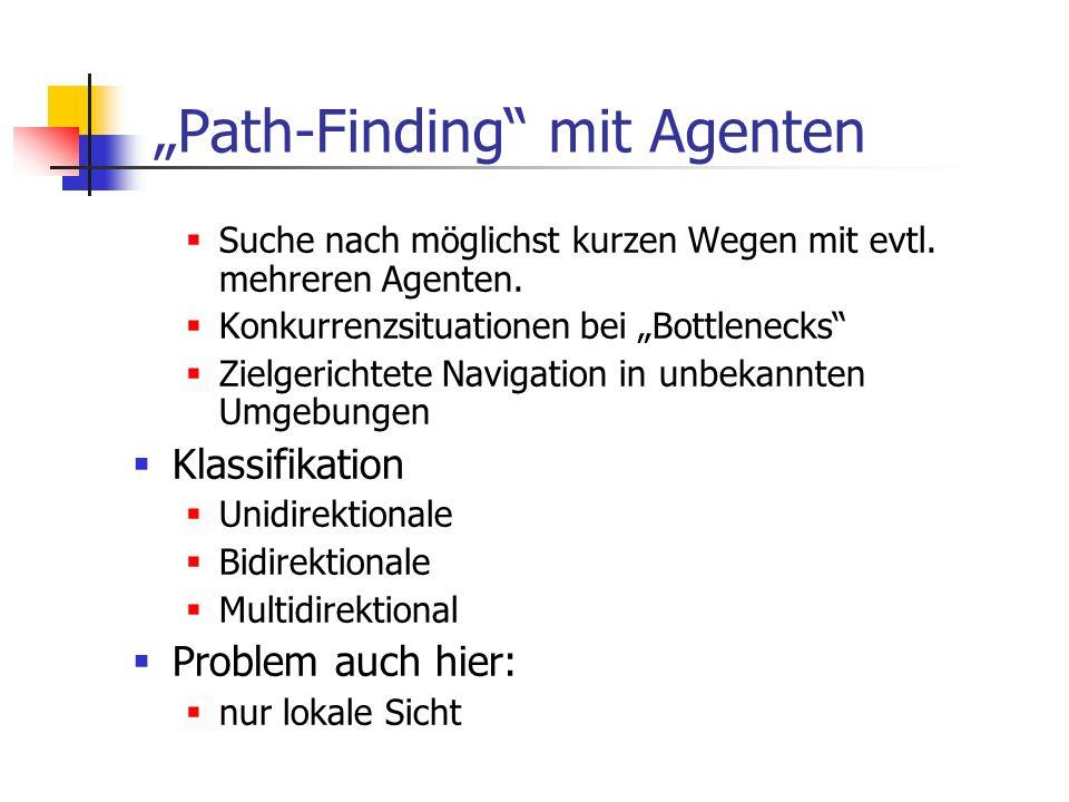 """""""Path-Finding mit Agenten"""