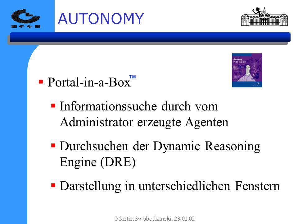 AUTONOMY Portal-in-a-Box