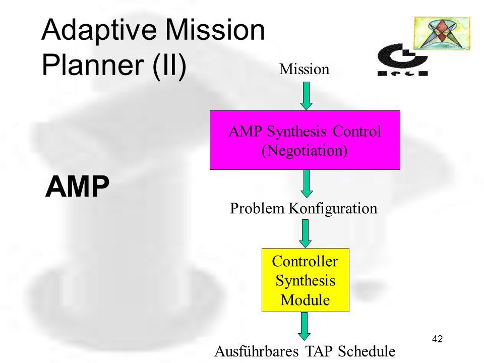 Adaptive Mission Planner (II)