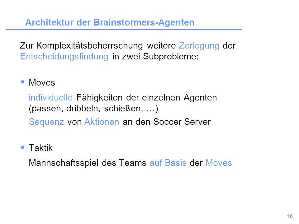 Architektur der Brainstormers-Agenten