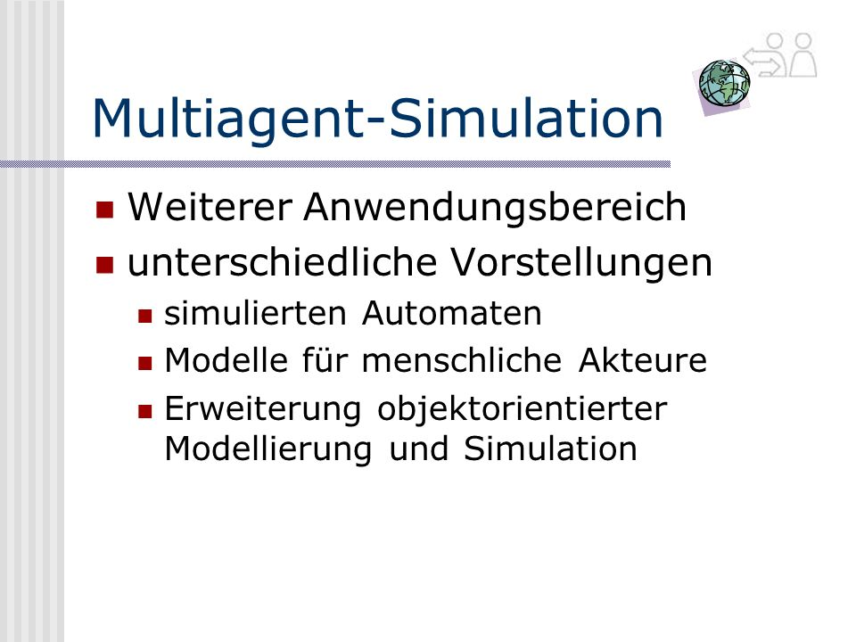 Multiagent-Simulation