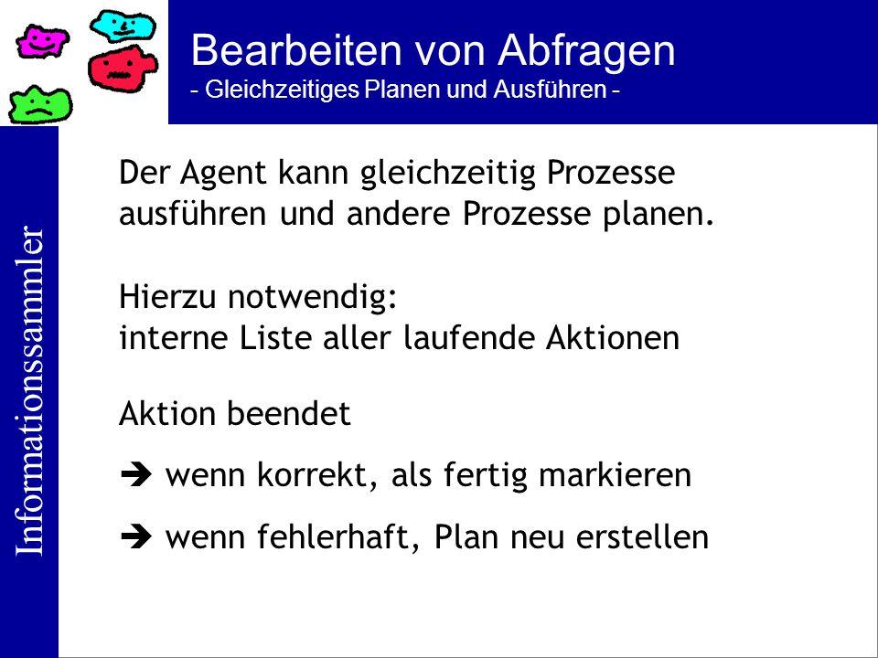 Bearbeiten von Abfragen - Gleichzeitiges Planen und Ausführen -