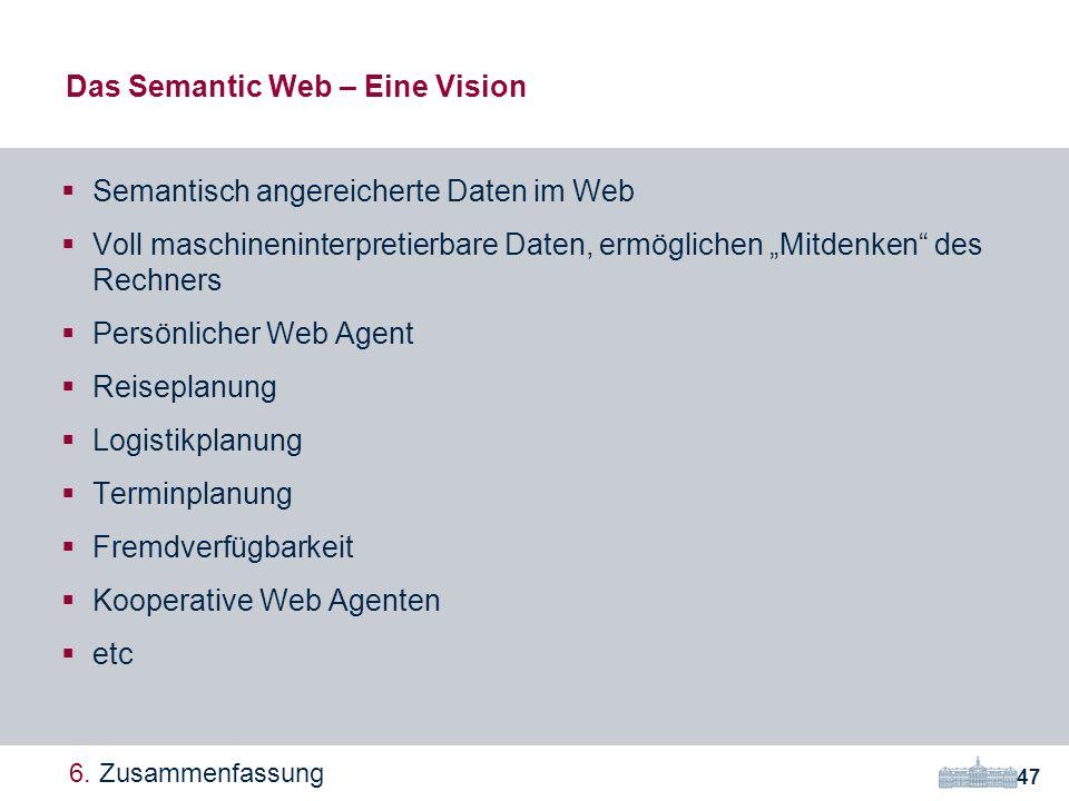 Das Semantic Web – Eine Vision