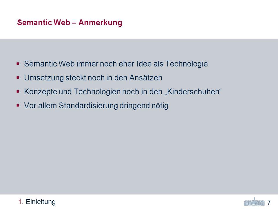 Semantic Web – Anmerkung