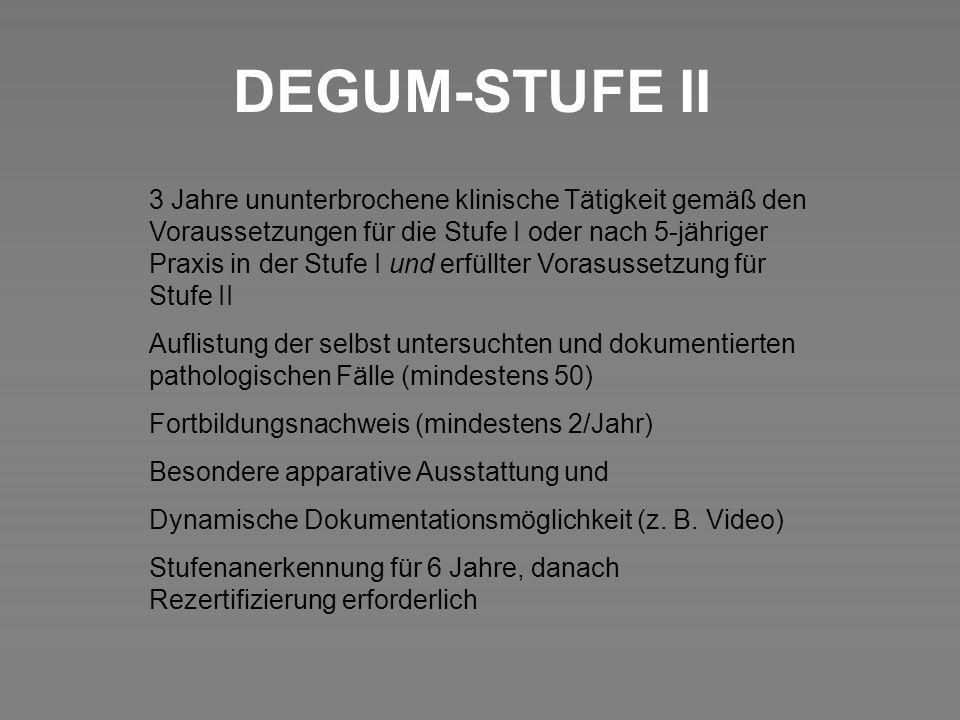 DEGUM-STUFE II