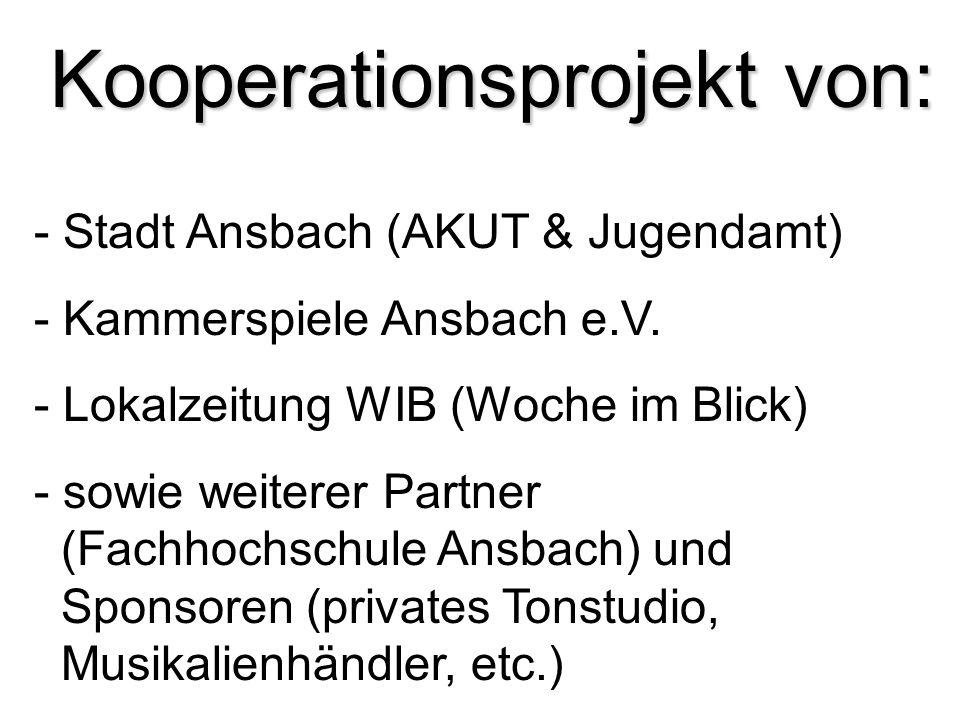 Kooperationsprojekt von: