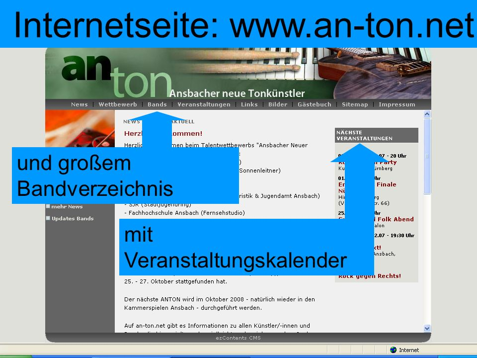 Internetseite: www.an-ton.net