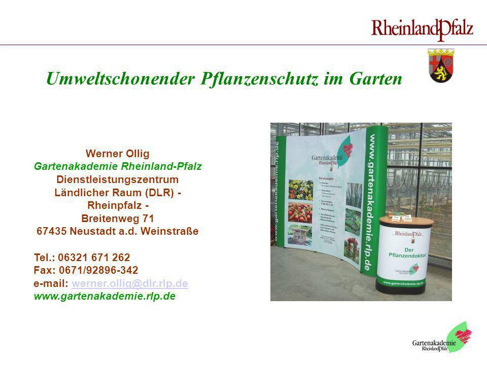 Umweltschonender Pflanzenschutz im Garten