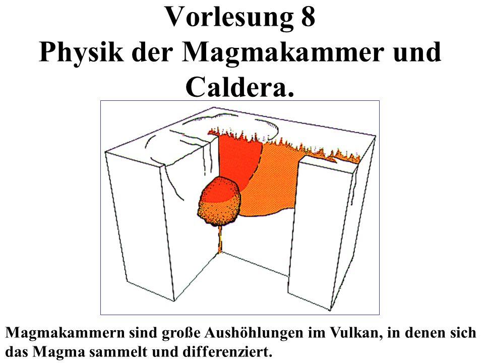 Vorlesung 8 Physik der Magmakammer und Caldera.