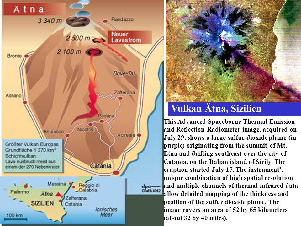 Vulkan Ätna, Sizilien