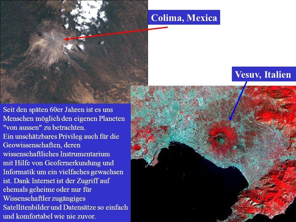 Colima, Mexica Vesuv, Italien