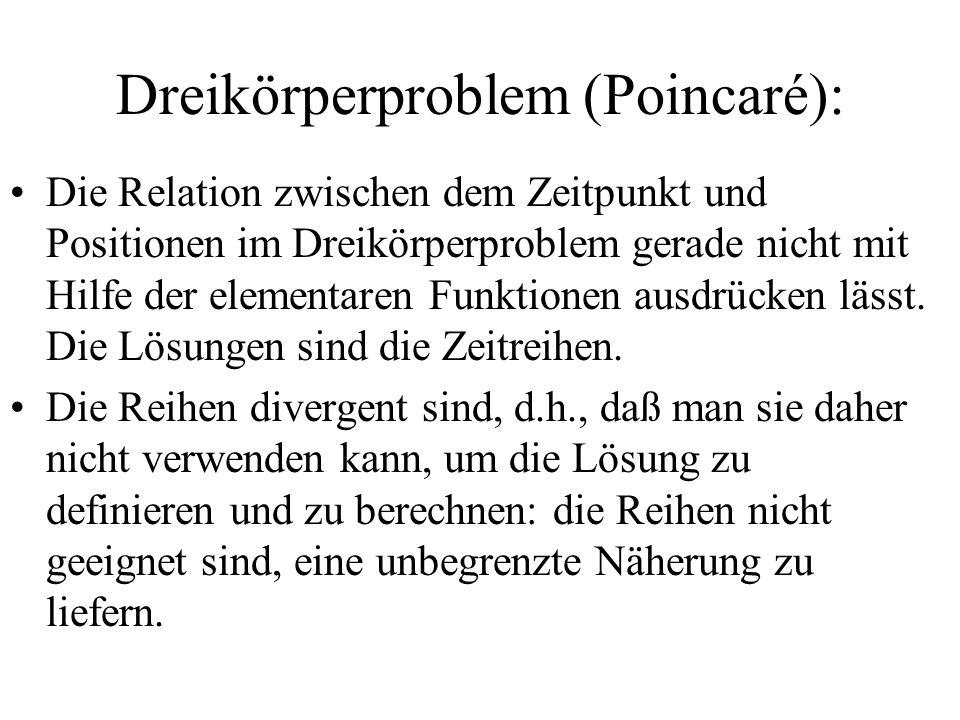 Dreikörperproblem (Poincaré):
