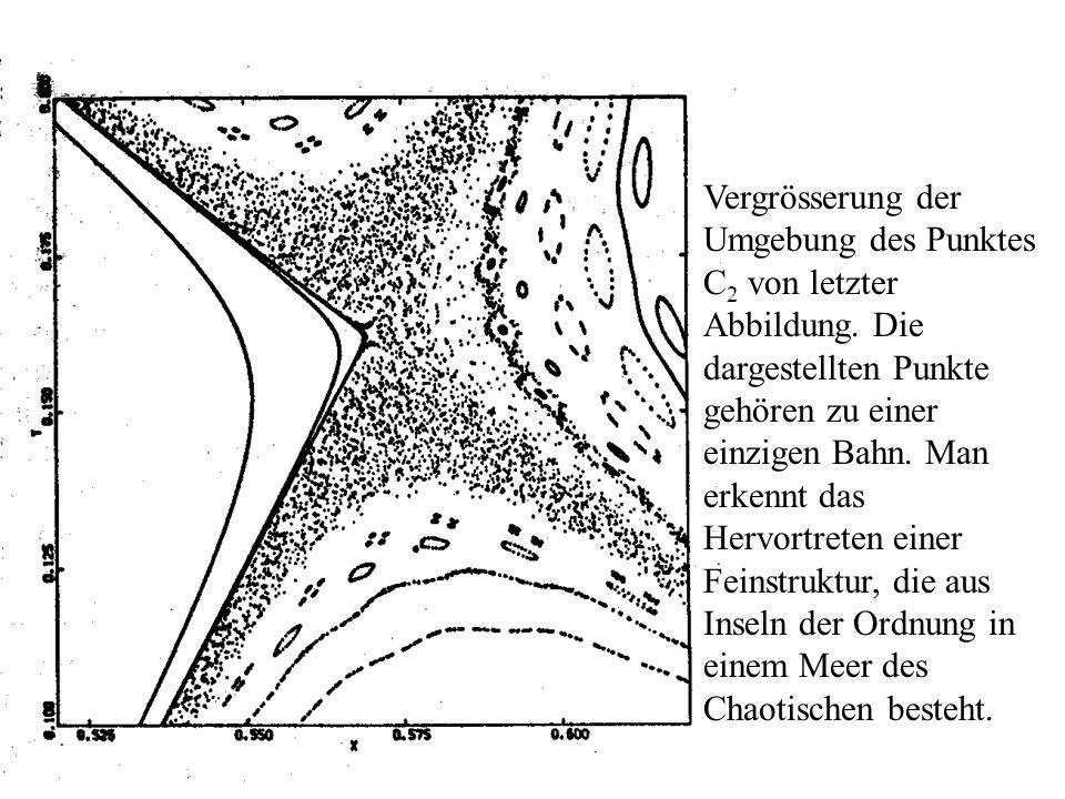Vergrösserung der Umgebung des Punktes C2 von letzter Abbildung