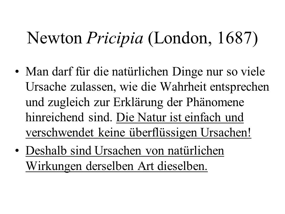 Newton Pricipia (London, 1687)