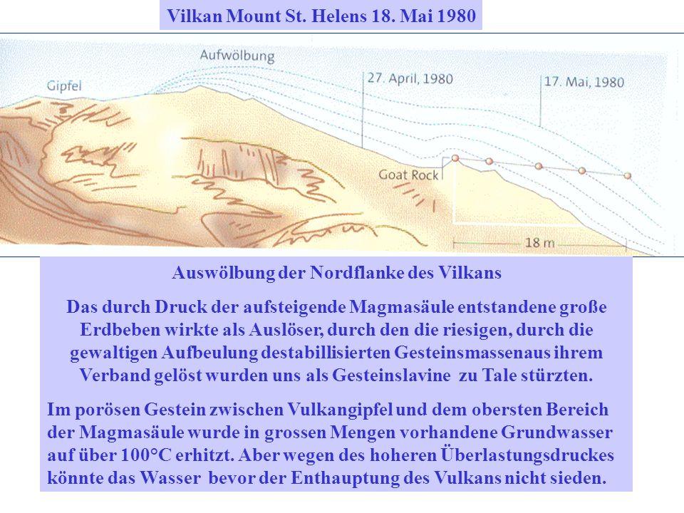 Vilkan Mount St. Helens 18. Mai 1980