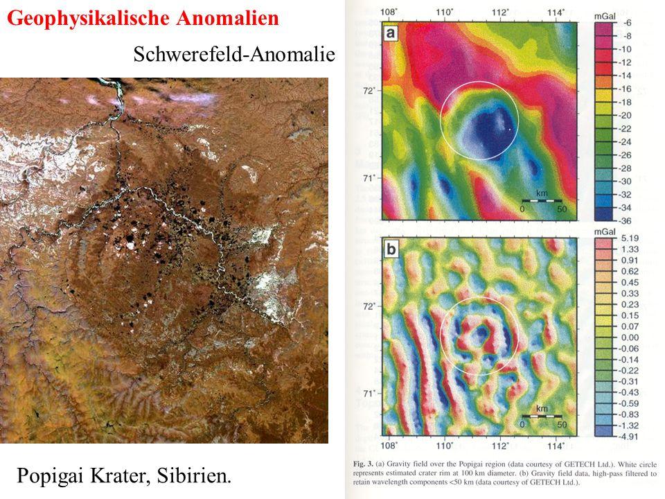 Geophysikalische Anomalien