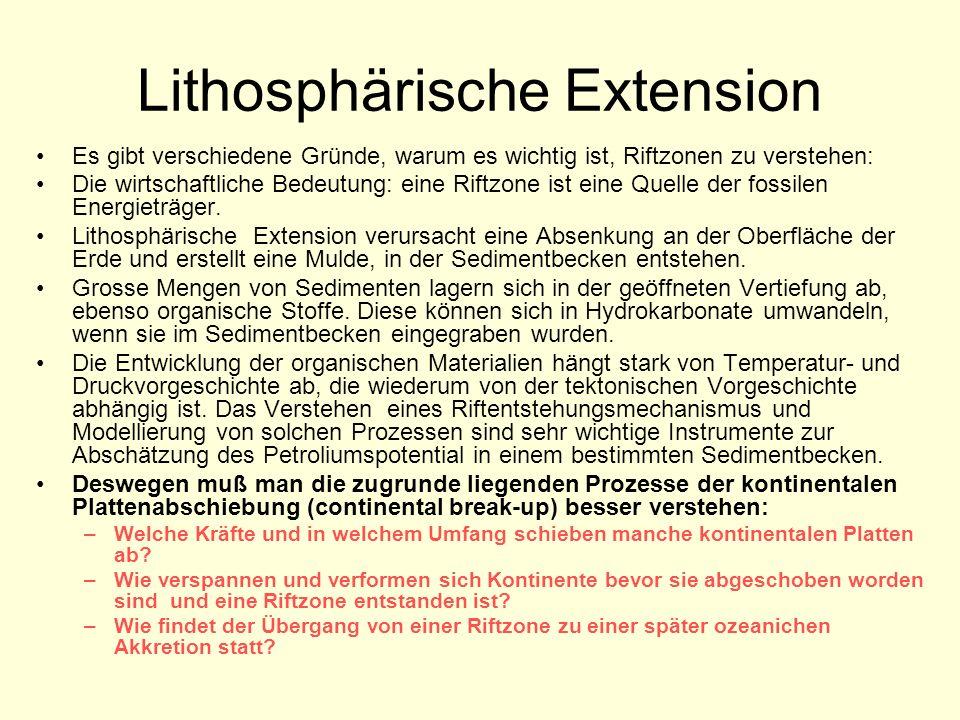 Lithosphärische Extension