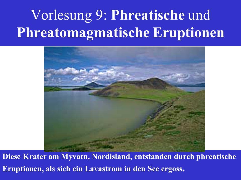 Vorlesung 9: Phreatische und Phreatomagmatische Eruptionen