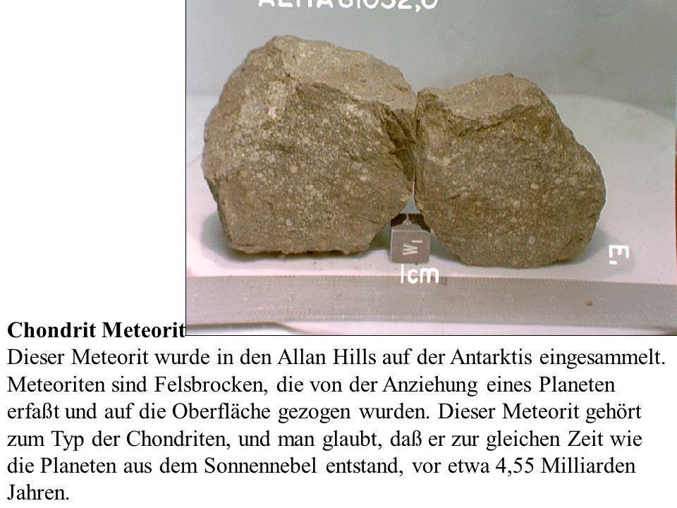 Chondrit Meteorit