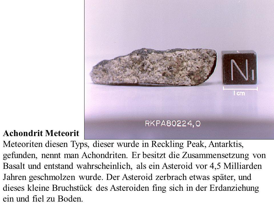 Achondrit Meteorit