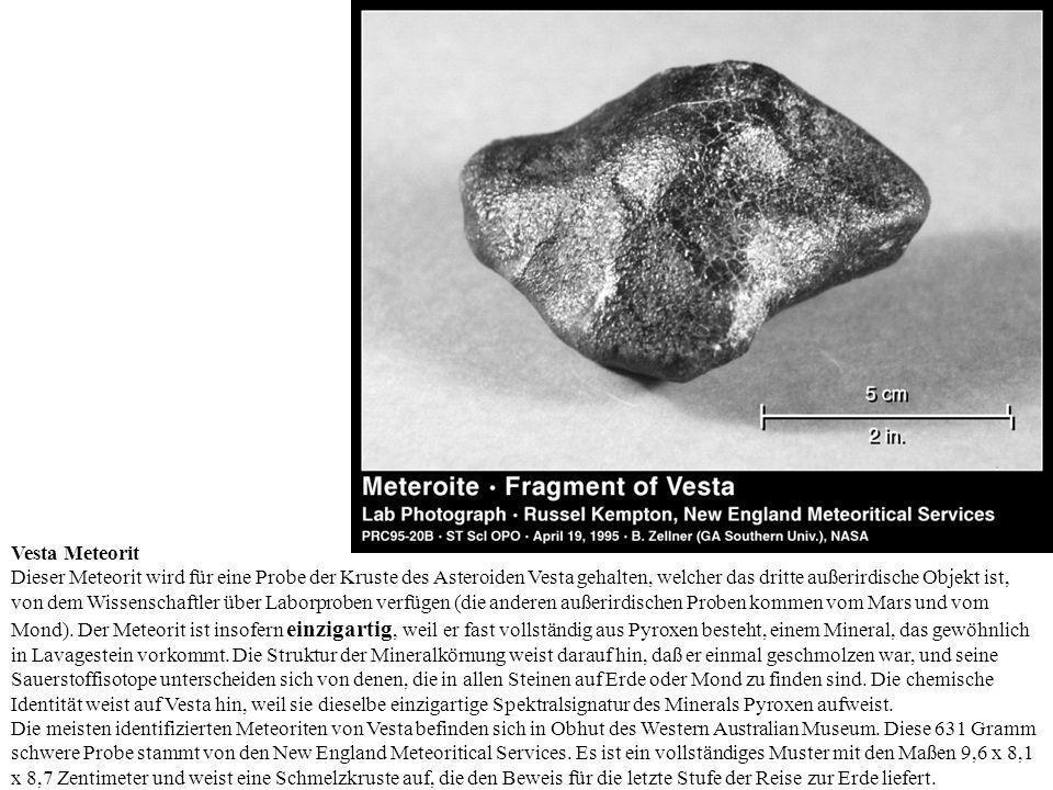 Vesta Meteorit