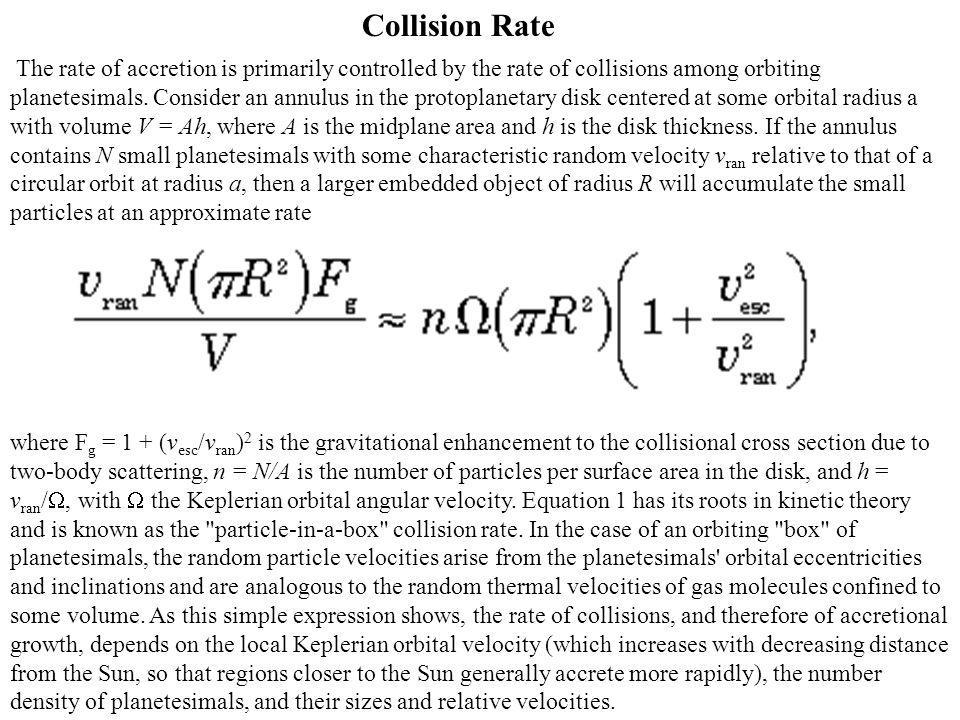 Collision Rate