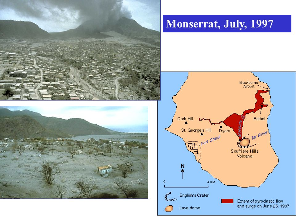 Monserrat, July, 1997