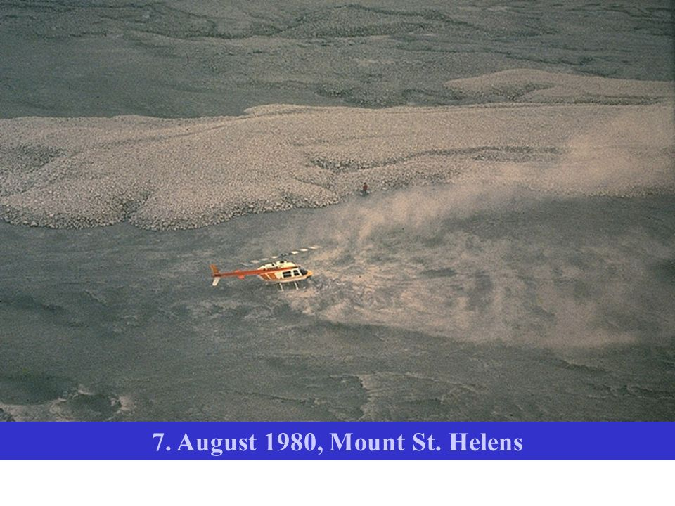7. August 1980, Mount St. Helens