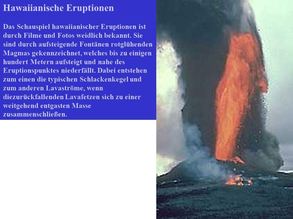 Hawaiianische Eruptionen