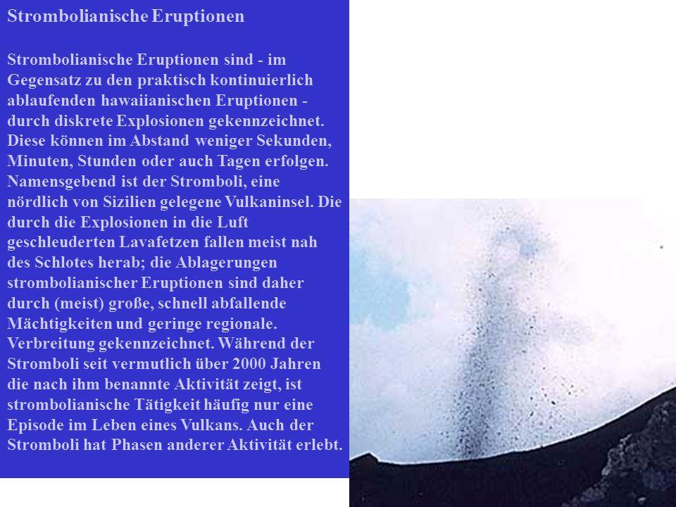 Strombolianische Eruptionen
