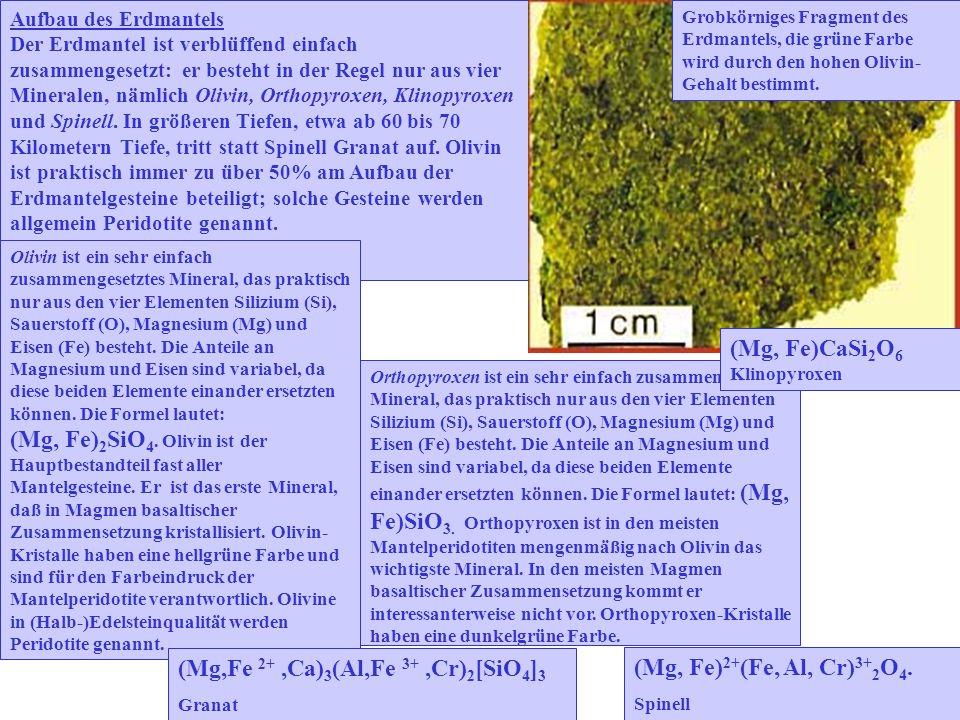 (Mg, Fe)CaSi2O6 Klinopyroxen