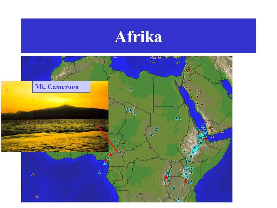 Afrika Mt. Cameroon