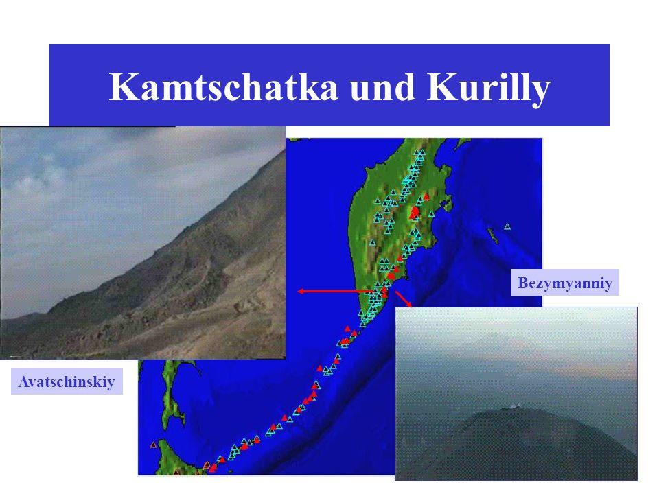 Kamtschatka und Kurilly