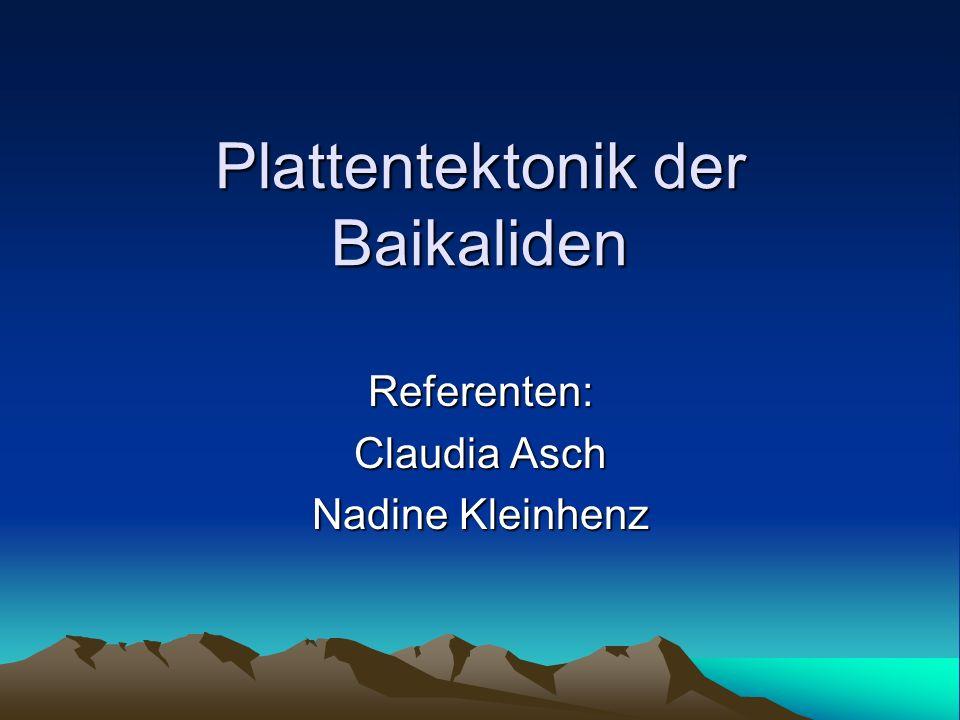 Plattentektonik der Baikaliden