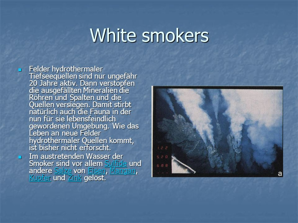 White smokers