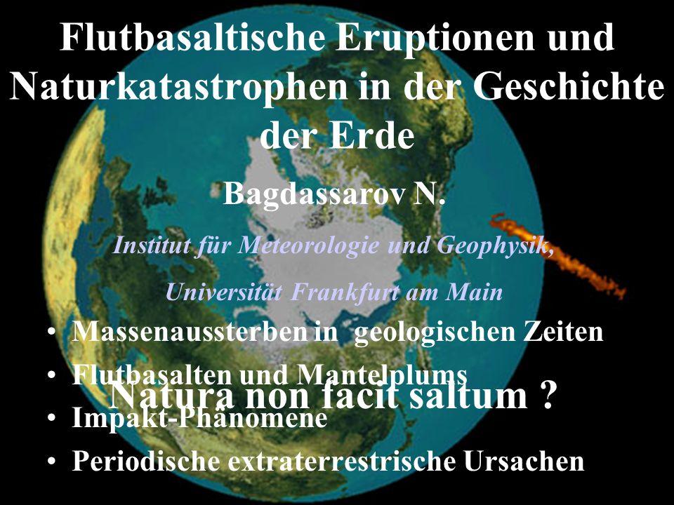 Institut für Meteorologie und Geophysik, Universität Frankfurt am Main
