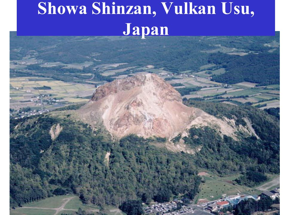 Showa Shinzan, Vulkan Usu, Japan
