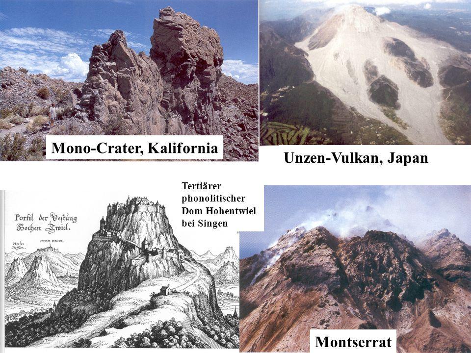 Mono-Crater, Kalifornia Unzen-Vulkan, Japan
