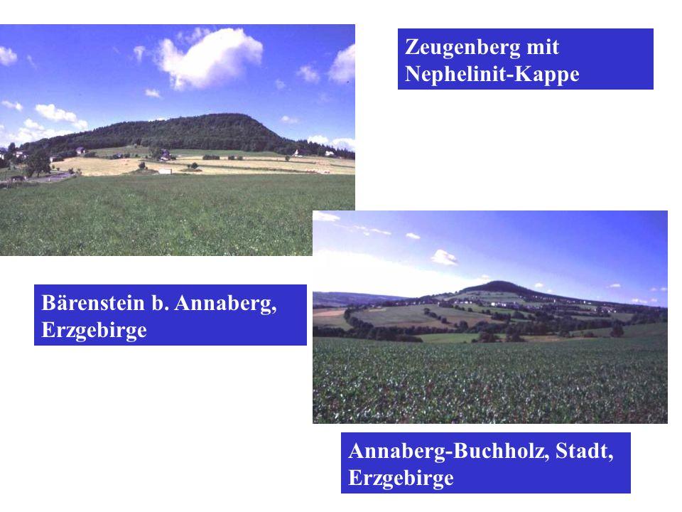 Zeugenberg mit Nephelinit-Kappe